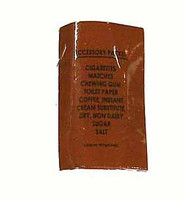 Vietnam C Rations - Empty Sundries Packet