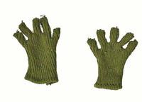 Soviet Female Sniper - Knit Fingerless Shooting Gloves