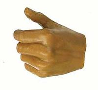 Miyamoto Musashi - Left Thumb Up Grip Hand