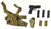Royal Marines Commando - Pistol w/ Leg Holster