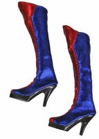 Cheerleader Clothing (Red & Blue) - Boots