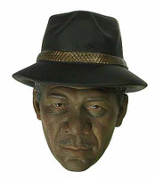 7 Crime Senior Detective (Freeman) - Head w/ Hat (Not Removable)
