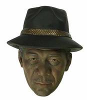 7 Crime Senior Detective (Freeman) - Head w/ Hat (Not Removable)