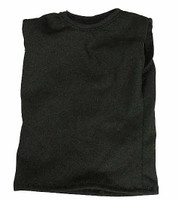 Mr. Vin - Black Sleeveless Shirt