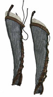 Knight Templar Crusader Brother - Chainmail Leggings w/ Cloth Lining