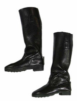 German Head of State (TT003 - Middle Aged) - Black Jack Boots (For Feet)