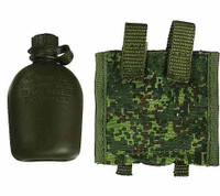 Russian Airborne Troops PKP Machine Gunner - Canteen w/ Pouch