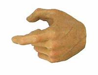 DAM Action 2.0 Narrow Shoulder Nude Figure - Left Trigger Hand
