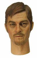 DAM Action 2.0 Narrow Shoulder Nude Figure - MALE02 Head (Norman Reedus)