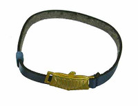 Heavy Armored Special Cop (Blue) - Belt (Metal Buckle)