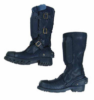 Heavy Armored Special Cop (Blue) - Boots (For Feet)