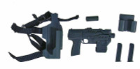 Heavy Armored Special Cop (Blue) - Pistol w/ Accessories