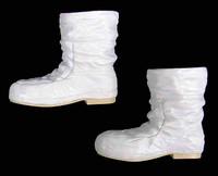 Last Man On The Moon: Captain Gene Cernan - White Capsule Boots (Unique Peg Design) (Limit 1)