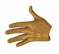 HK CID Inspector - Left Open Hand