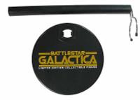 Battlestar Galactica: Cylon Centurion (Silver) - Display Stand