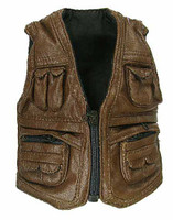 Dinosaur Expert - Leather Vest