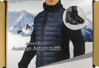 James Bond Austrian Action - Boxed Accessory Set (NO Head or Body)