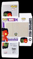 FUNKO POP Vinyl: Marvel - Toy Anxiety Exclusive Compound Hulk REPLACEMENT BOX ONLY