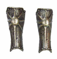 Frazetta: Death Dealer -  Leg Armor (Plastic)