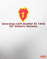 25th Infantry Division Operation Cliff Dweller IV - Boxed Figure
