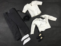 Lee Suit Set: A013 (Kung Fu) - Packaged Accessory Set (No Body or Head)