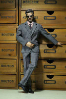 POP Toys: Men's Striped Suits - X22-C Light Grey Suit Boxed Set (No Body or Head)