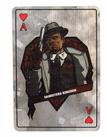Gangster Kingdom: Heart A Billy - 1:1 Actual Playing Card