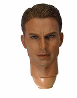CA3: Civil War: Captain America - Unmasked Head