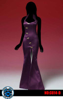 Super Duck: Cosplay Snake Ji V2 Dress: Purple - Packaged Accessory Set (No Body or Head)
