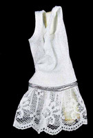 Pole Dancer Dress Sets - White Dress