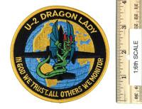 U-2 Dragon Lady Pilot - Patch 1:1 Full Size