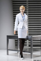 POP Toys: Office Lady Business Suits (White) - Boxed Set