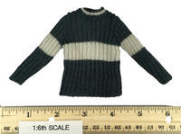 Harry Potter: Chamber of Secrets: Harry Potter & Draco Malfoy (Quidditch Version) - Slytherin Knitted Sweater