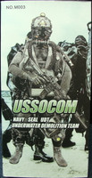 USSOCOM Navy Seal UDT - Boxed Figure