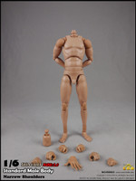 COO: BD002 - Standard Male Body (Narrow Shoulders) Set - 27cm Tall