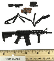 Female Shooter Black Version - Assault Rifle (M4) w/ Accessories
