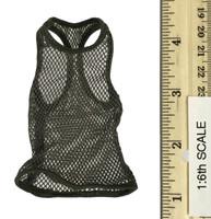 Combat Shorts Fashion Clothing Set  - Mesh Top (Olive)