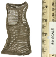 Combat Shorts Fashion Clothing Set  - Mesh Top (Tan)