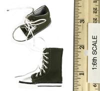 Combat Shorts Fashion Clothing Set  - Shoes (Olive) (For Feet)