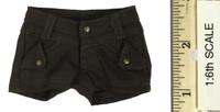 Combat Shorts Fashion Clothing Set  - Shorts (Brown)