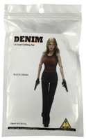 Denim Fashion Clothing Set - Black Denim Set