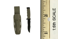 U.S. Navy Seal in the Battle of Abbas Ghar - Knife w/ Sheath