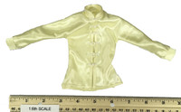 Gangster Kingdom: Neil - Yellow Kung Fu Satin Shirt