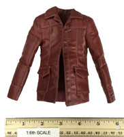 Fight Club - Tyler Durden (Red Jacket Version) - Red Leather Jacket
