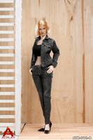 Cowgirl Clothing Set (Black Denim) - Boxed Figure