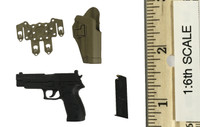 British Army in Afghanistan - Pistol (P226) w/ Holster