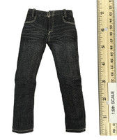 Speed Silver - Pants (Black Denim)