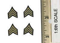 2nd Armored Division Military Police: Bryan - Sergeant Chevron Patches
