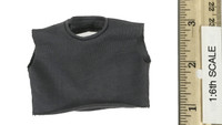 Captain America: Civil War: Falcon - Sleeveless Black / Dark Grey Short T-Shirt (See Note)