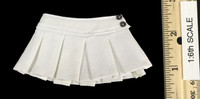 Girls Uniforms Clothing Sets - Skirt (White)